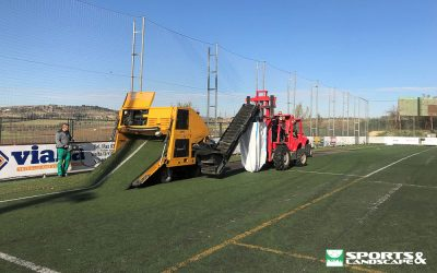 Start of work in different sports facilities in Vilafranca del Penedès (Barcelona)