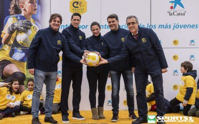 Inauguration of new Cruyff Court in Fuenlabrada (Madrid)