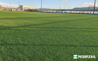 Completion of work to replace artificial grass in El Pinar in Zizur Mayor (Navarra)